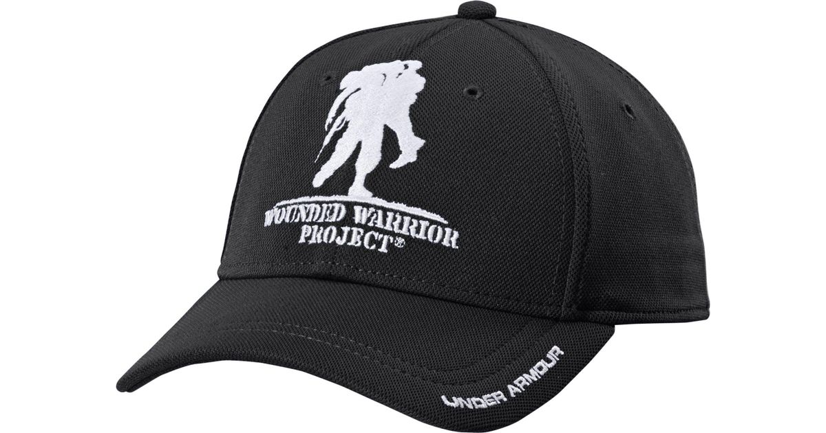 Lyst - Under Armour Wounded Warrior Project Snapback Hat in Black for Men c74c6d993b02