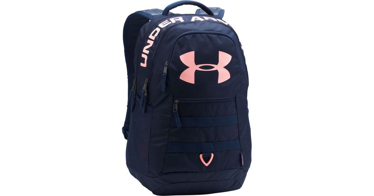 6dc12686d0 Under Armour Blue Ig Logo 5.0 Backpack