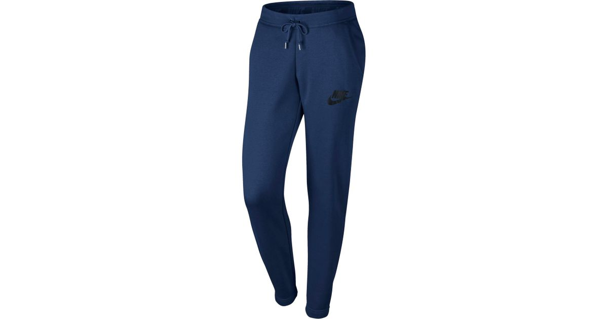 great deals 2017 compare price 60% clearance Lyst - Nike Sportswear Rally Sweatpants in Blue