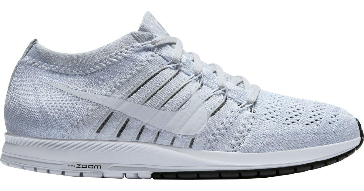 3501b09ff5bec Lyst - Nike Air Zoom Flyknit Streak 6 Running Shoes in White for Men