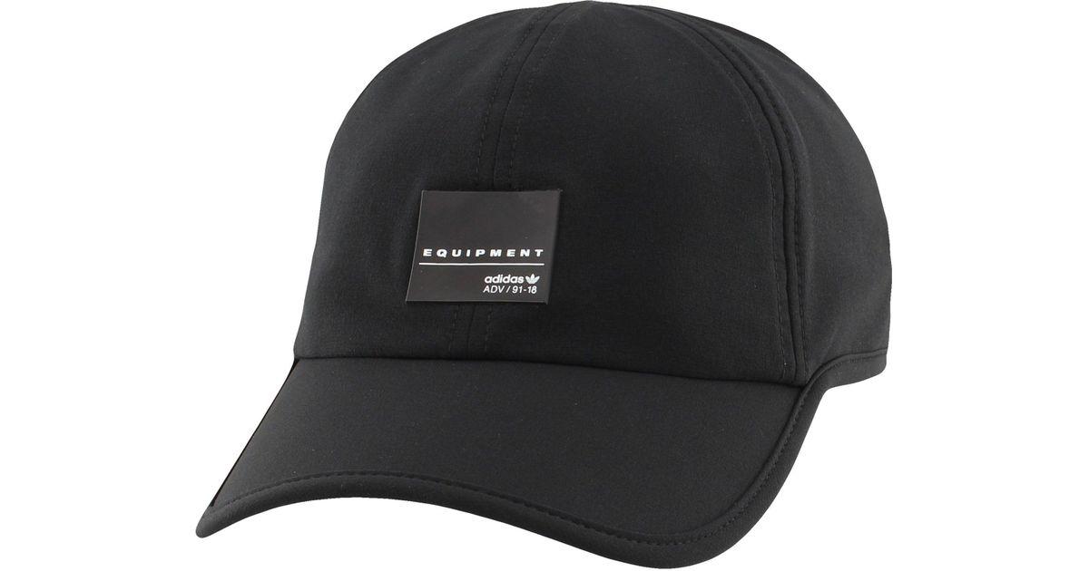 3fb797e7784 Lyst - adidas Originals Eqt Trainer Ii Hat in Black for Men