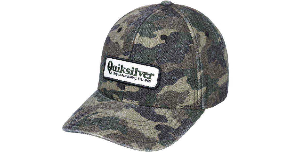 ... discount lyst quiksilver ullish snapback hat for men 3d0da ce94c 2307d74b6502