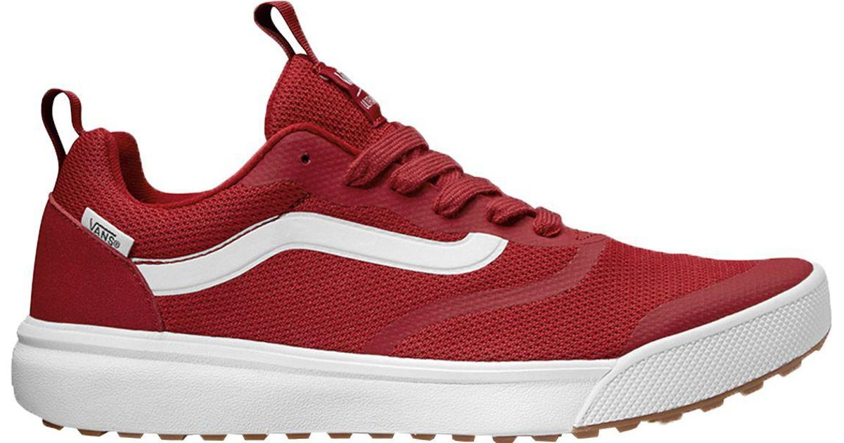 a9f239dd2e Lyst - Vans Ultrarange Rapidweld Shoes in Red for Men - Save 25%