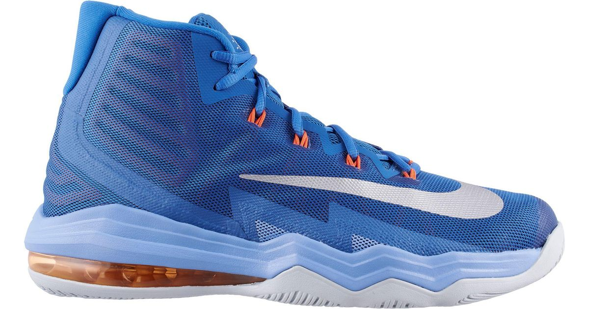 Nike Blue Air Max Audacity 2016 Basketball Shoes for men