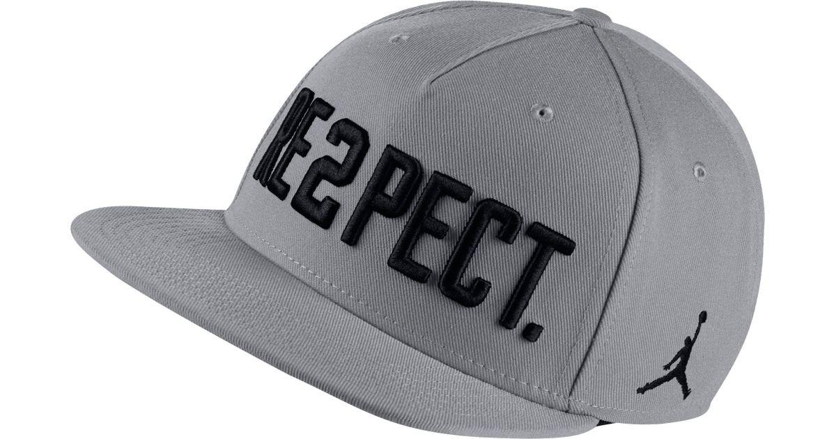 Lyst - Nike Pro Re2pect Adjustable Hat in Gray for Men fd6df1d85b3