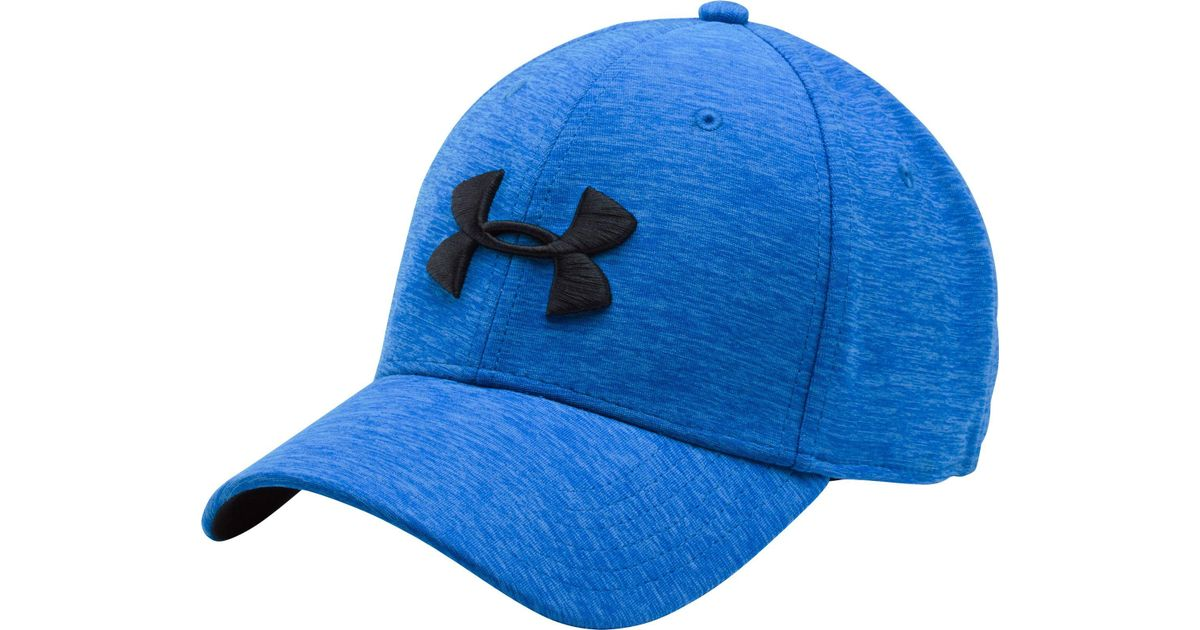601b52d9288 ... greece lyst under armour twist print tech closer hat in blue for men  d31e5 be5bf