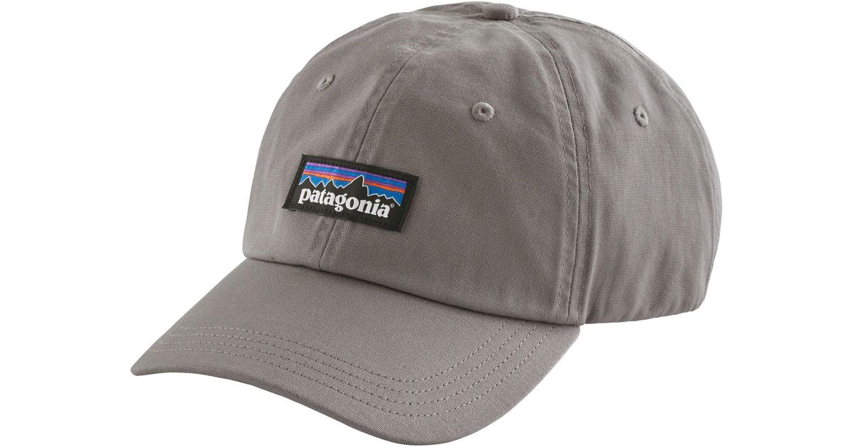 8d1b27957a51e Lyst - Patagonia P-6 Label Trad Cap in Gray for Men