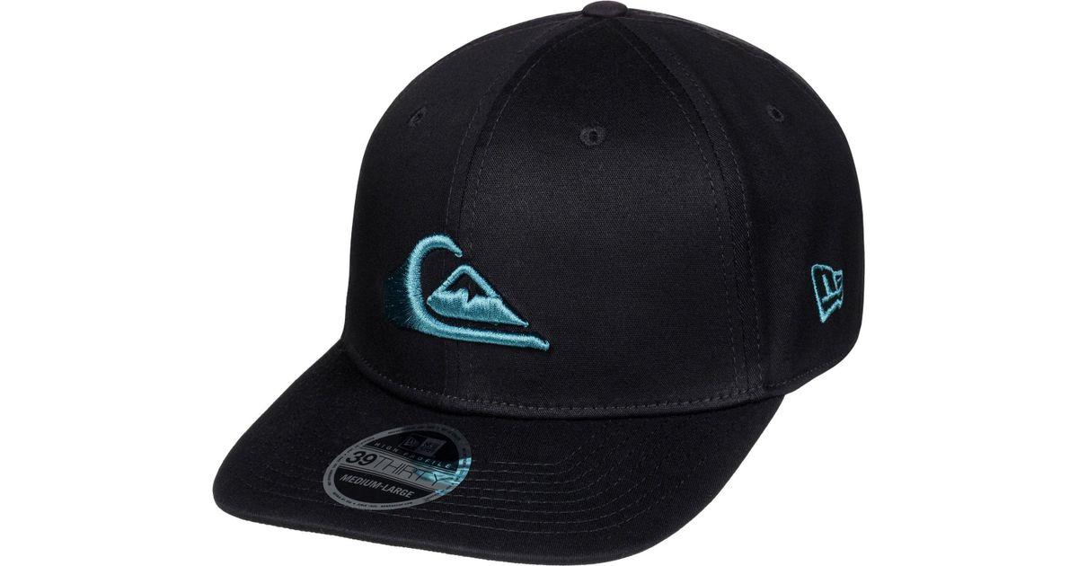 750fc11935c Lyst - Quiksilver Mountain   Wave New Era Hat in Blue for Men
