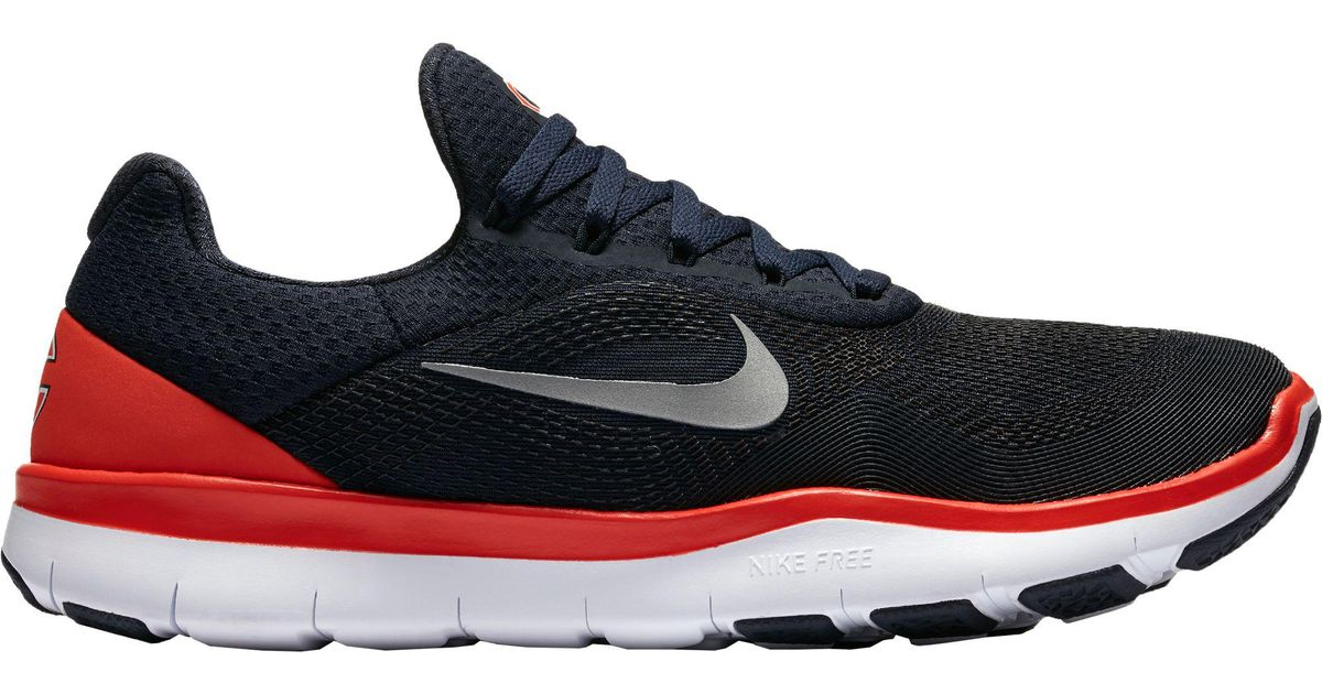 61435010c7e Lyst - Nike Free Trainer V7 Nfl Bears Training Shoes in Blue for Men