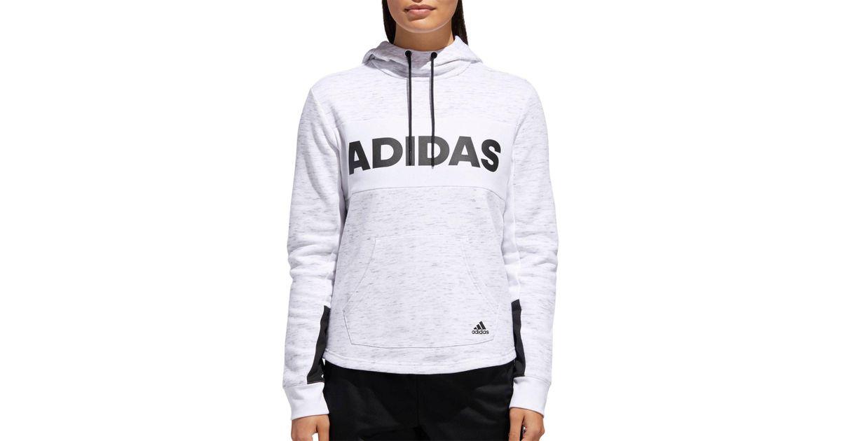 adidas Post Game Fleece Pullover Hoodie