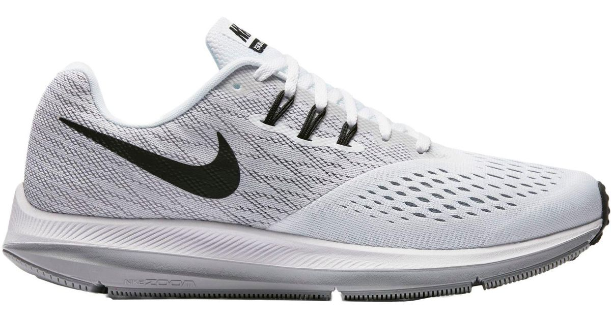 buy online df637 ddbe6 Nike White Air Zoom Winflo 4 Running Shoes for men