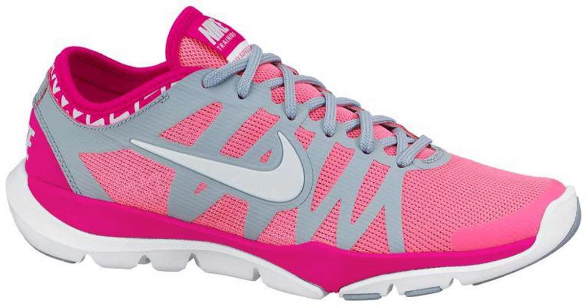 48f5c7916fd38 Lyst - Nike Flex Supreme Tr 3 Training Shoes in Pink