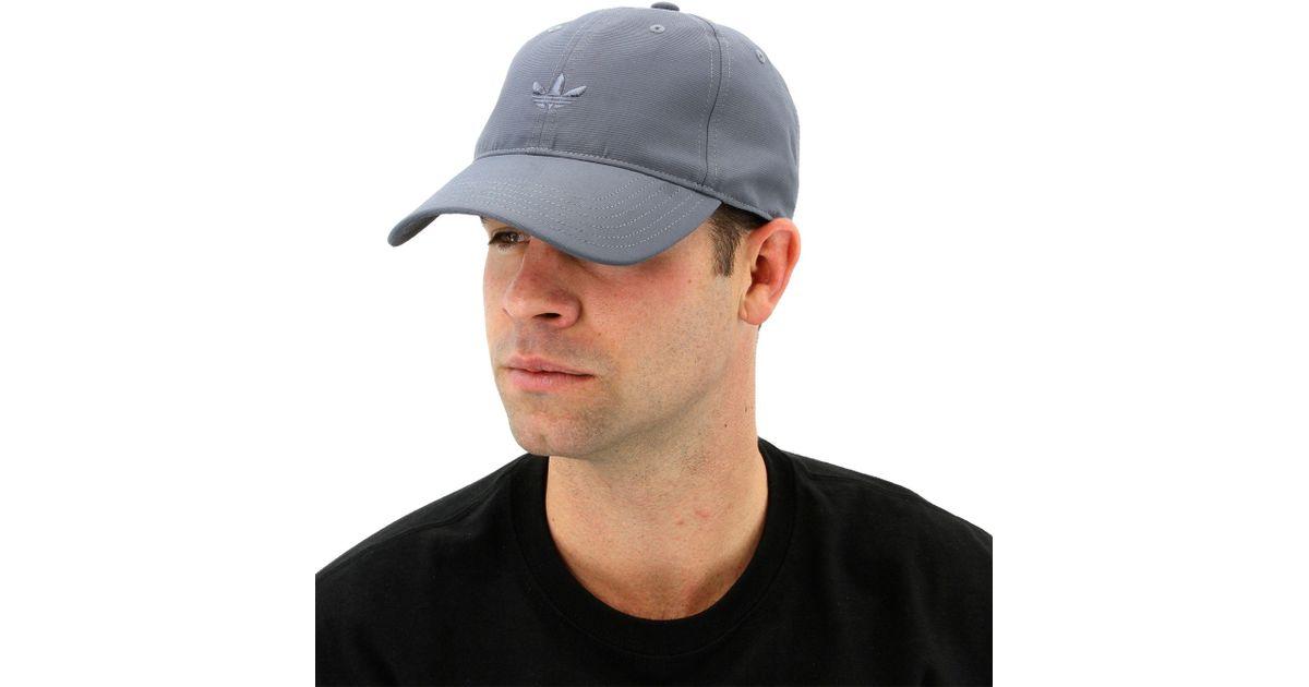 Lyst - adidas Originals Relaxed Modern Cap in Gray for Men cb59a8b242e