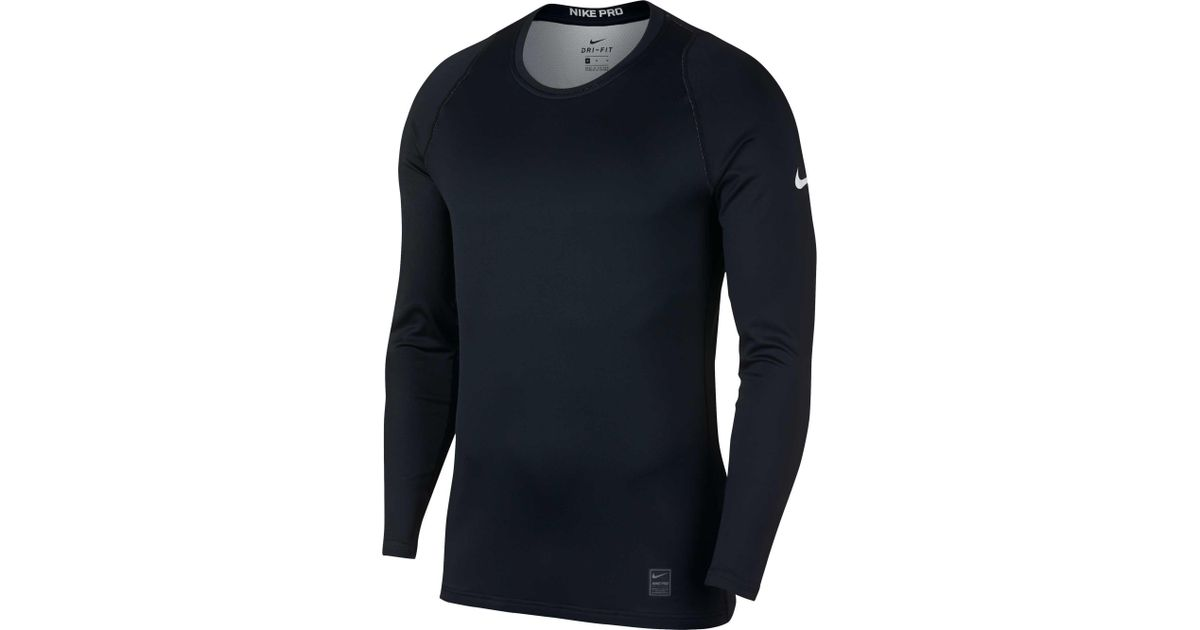 e89f8169e3 Lyst - Nike Pro Colorburst 2 Long Sleeve Shirt in Blue for Men