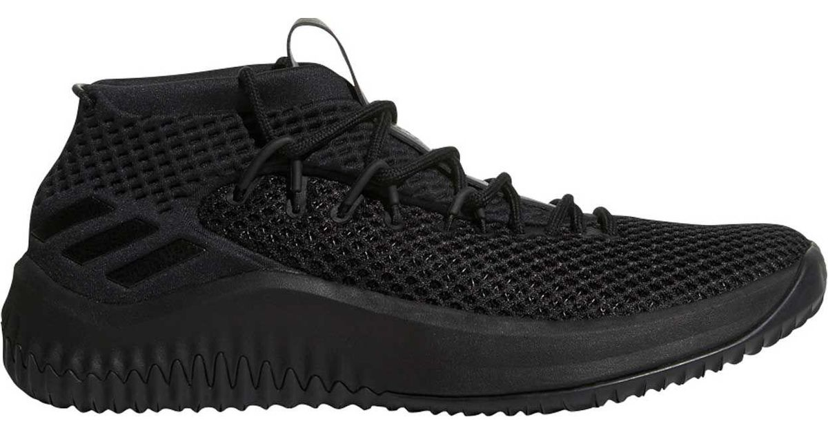 newest 13210 618f2 Lyst - adidas Dame 4 Basketball Shoes in Black for Men