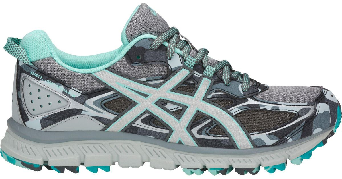 new style 0ae42 89a35 Asics Gray Gel-scram 3 Running Shoes