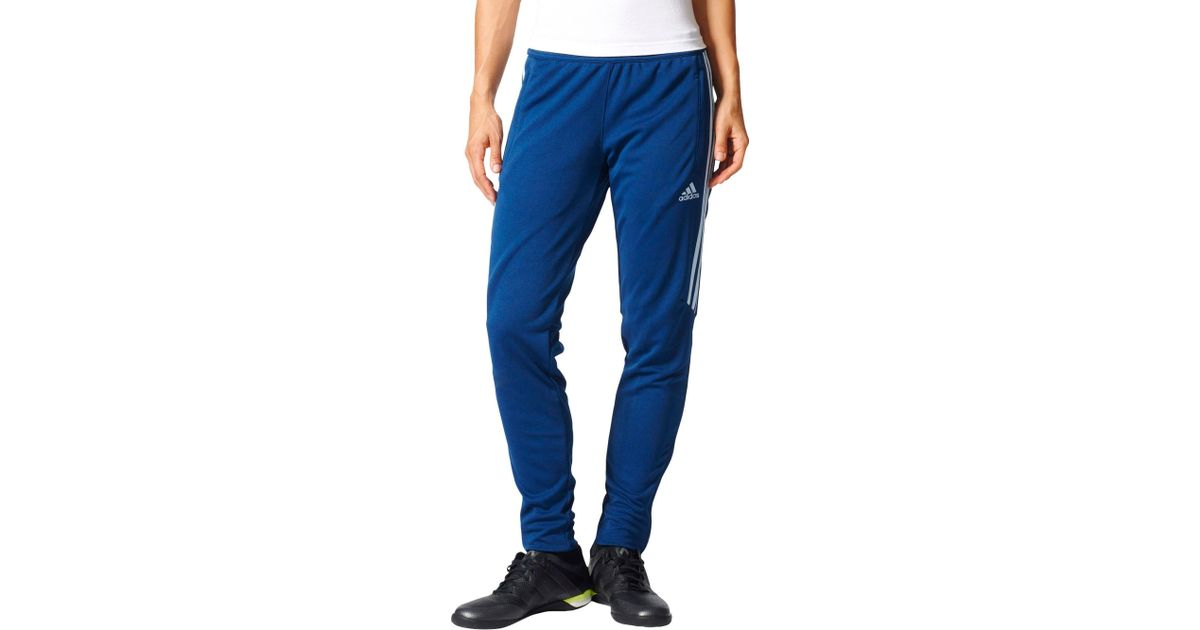 849eb4017 adidas Tiro 17 Soccer Training Pants in Blue for Men - Lyst
