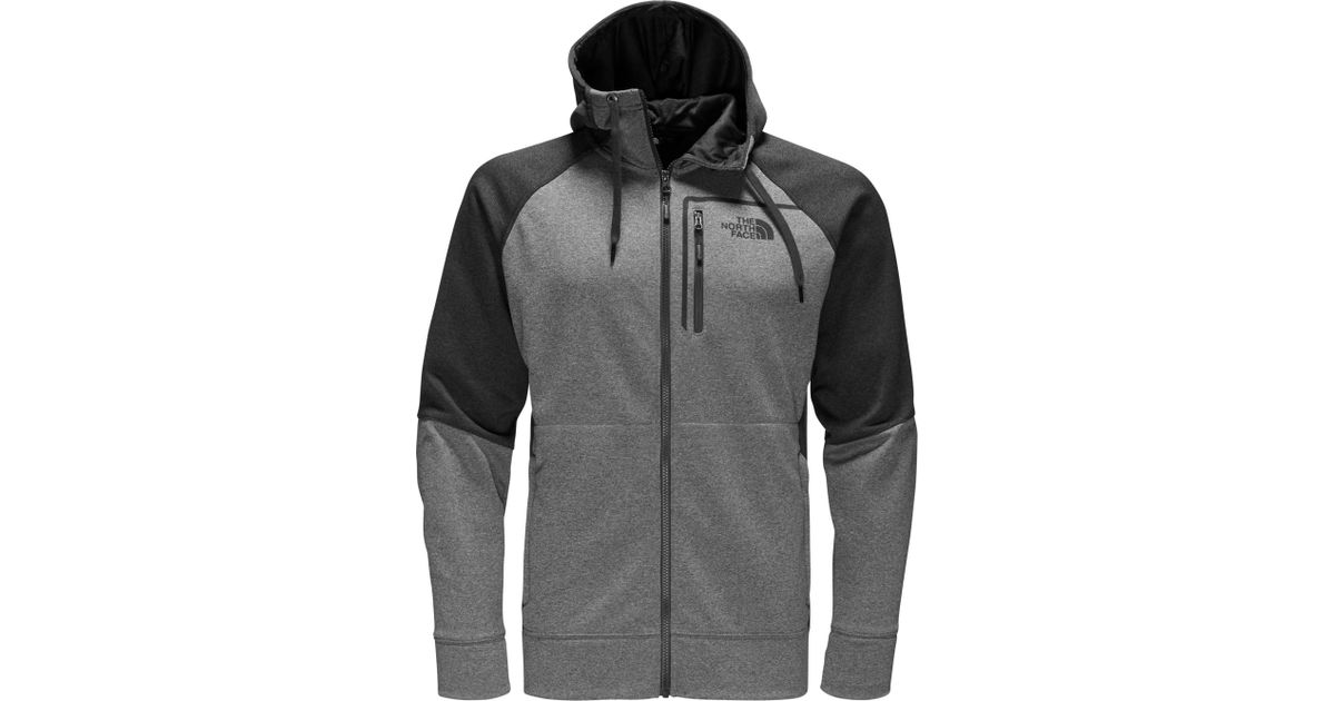 Lyst - The North Face Mack Eaze Full Zip Hoodie in Gray for Men 9d2acc805f