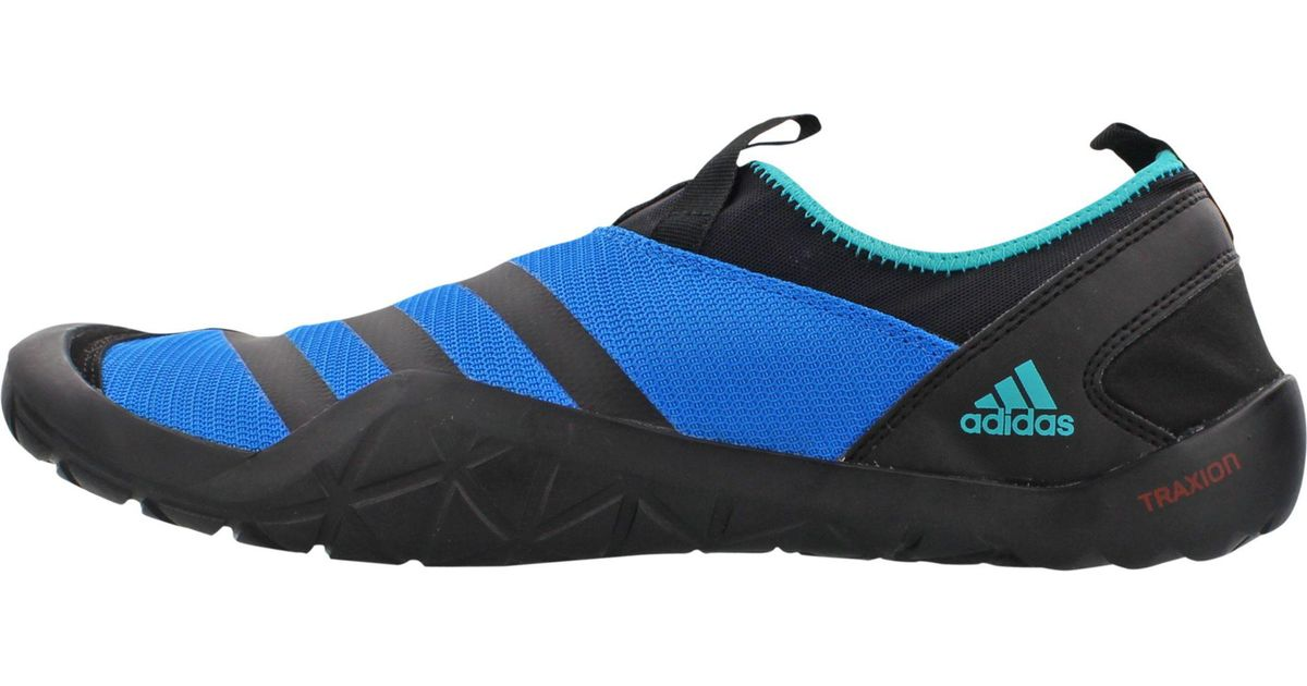 new concept 0f4ef 7d82f Adidas Blue Outdoor Climacool Jawpaw Slip-on Water Shoes for men