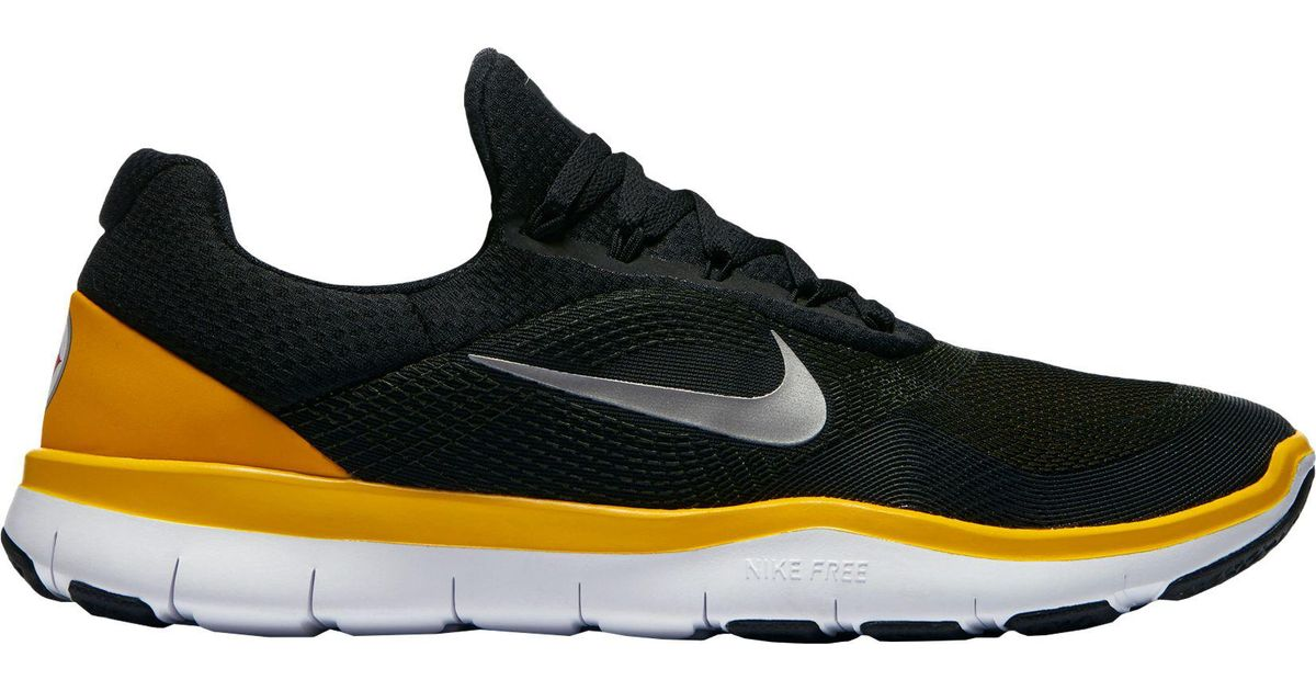 d364eb87 Nike Black Free Trainer V7 Nfl Steelers Training Shoes for men