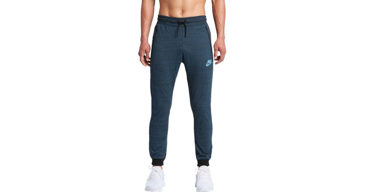 557dfa34e267 Lyst - Nike Sportswear Advance 15 Knit Jogger Pants in Blue for Men