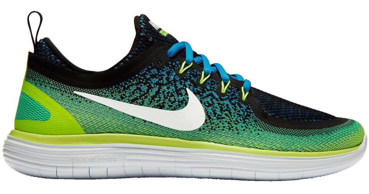 la meilleure attitude e7ffd 93a9c Nike Green Free Rn Distance 2 Running Shoes for men
