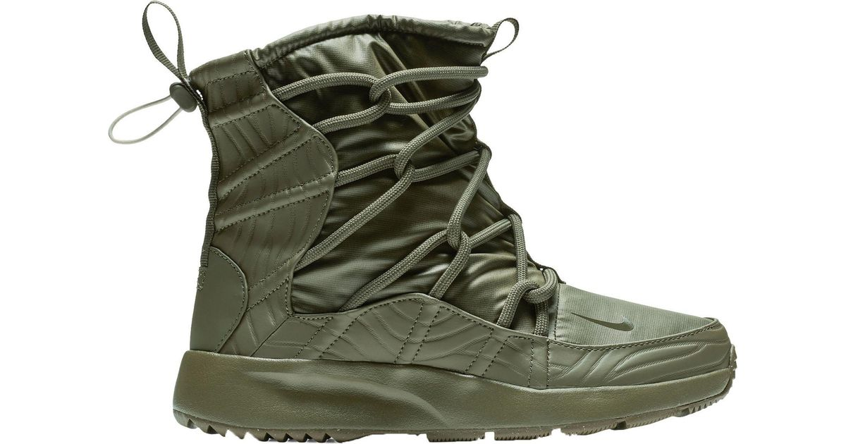 picked up best sale fair price Nike Green Tanjun High Rise Shoe