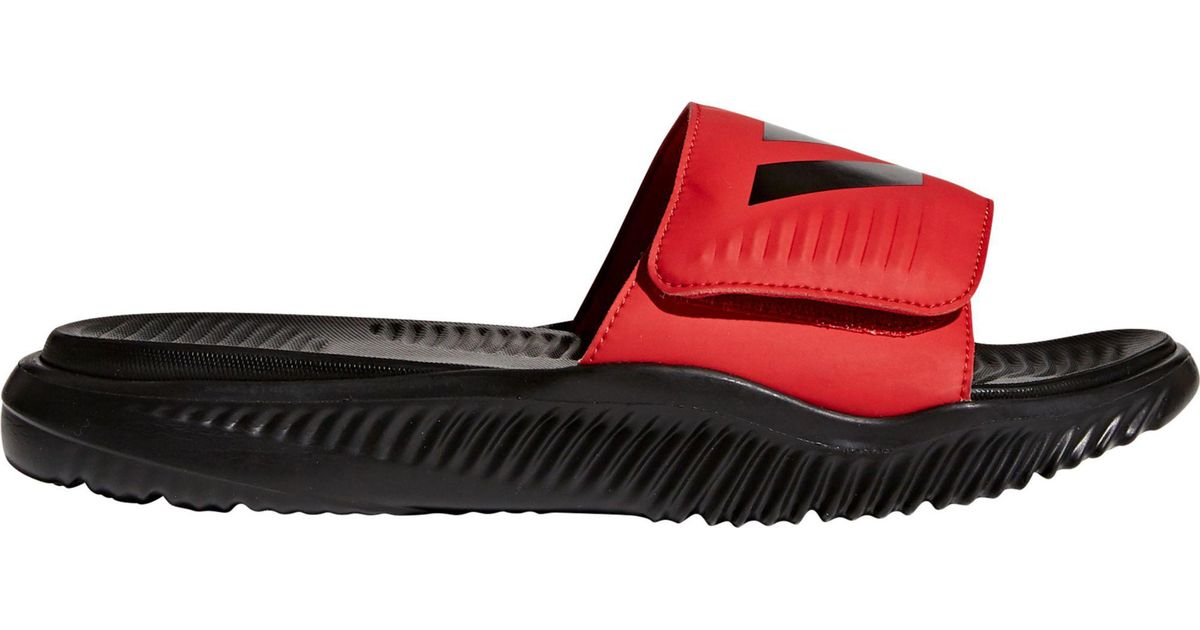 c2f5d354d3ff Lyst Adidas Alphabounce Slides In Black For Men. Adidas Alphabounce Slide  Sandal Black