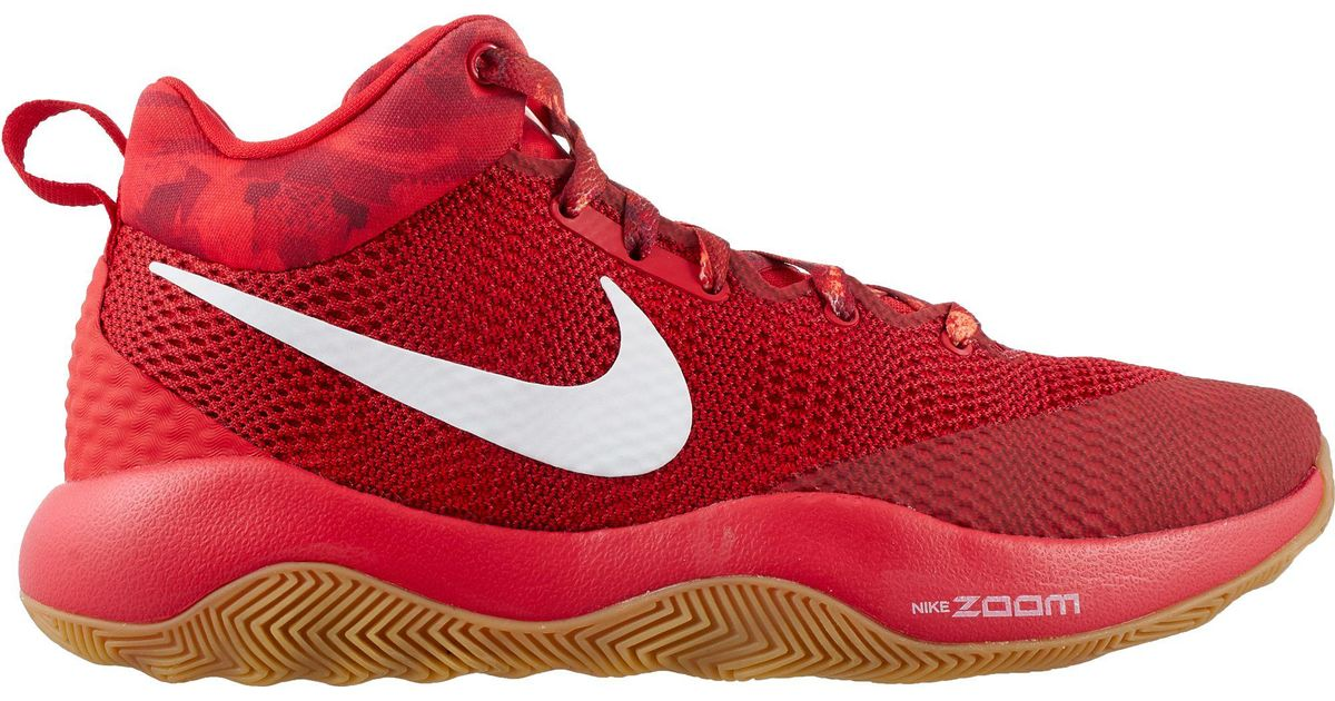 221a1fe59b3 Nike Red Zoom Rev 2017 Basketball Shoes for men