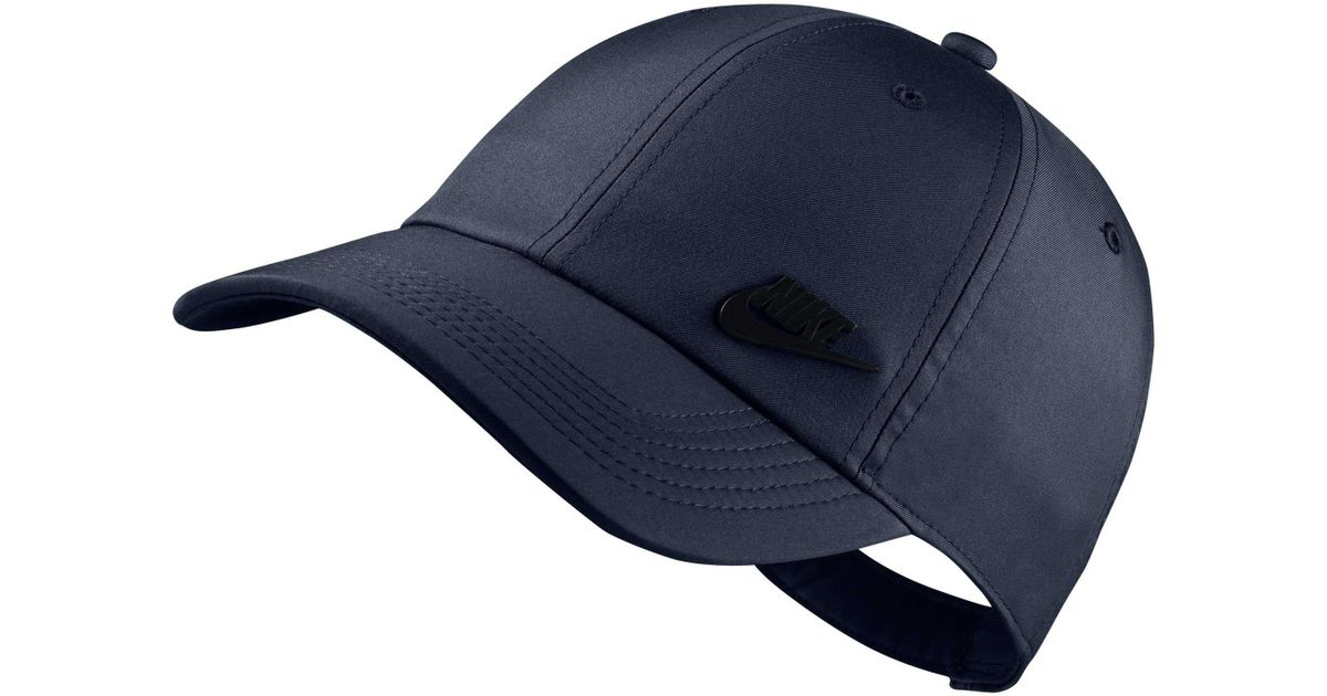 e90ee9a87 Nike Blue Sportswear H86 Metal Futura Cap for men