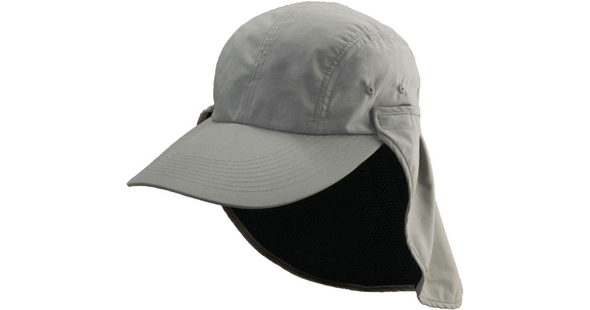 7717c3b675b78 Dorfman Pacific Long Bill Fishing Hat in Gray for Men - Lyst
