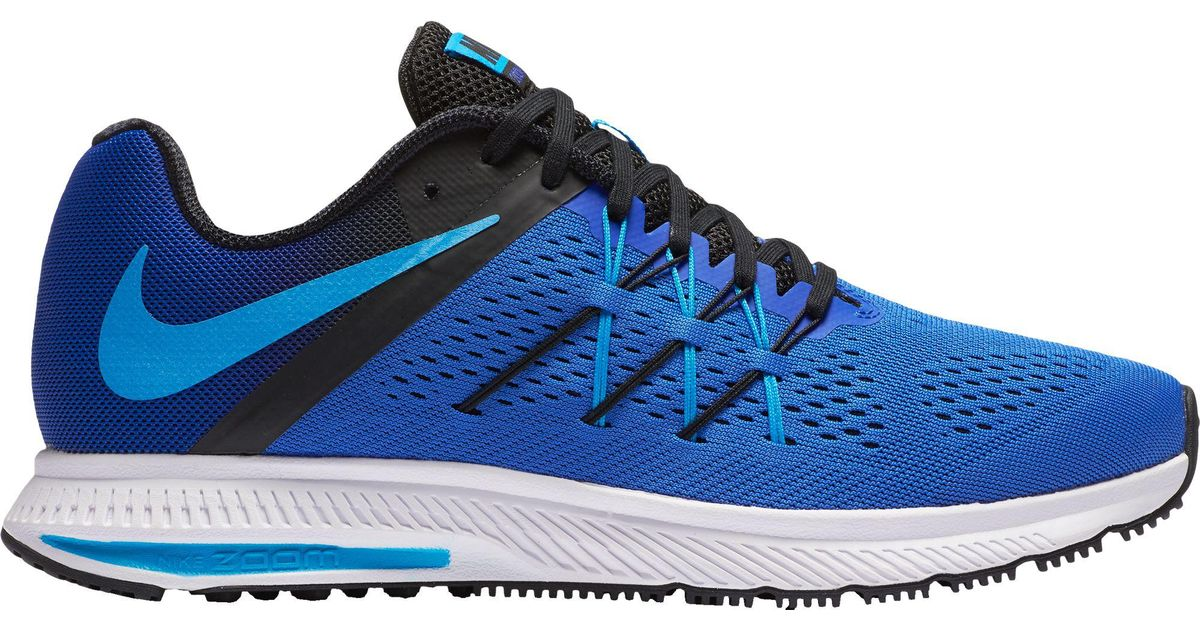 12f70e5e984d Lyst - Nike Zoom Winflo 3 Running Shoes in Blue for Men