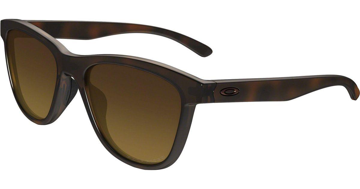 bfebbe0bbe Lyst - Oakley Moonlighter Polarized Sunglasses in Brown