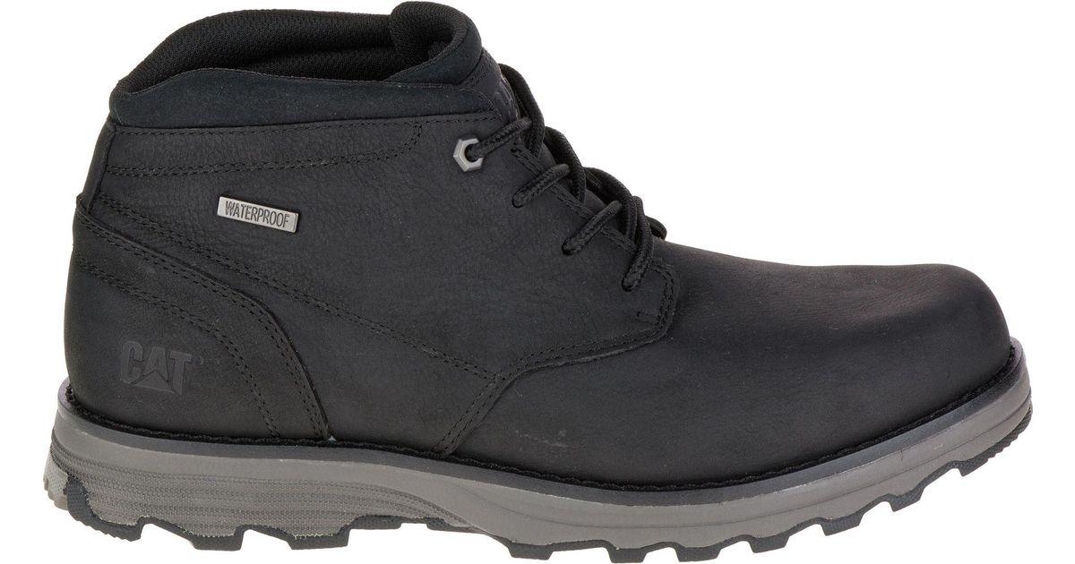 Caterpillar Black Cat Elude Waterproof Casual Boots For Men