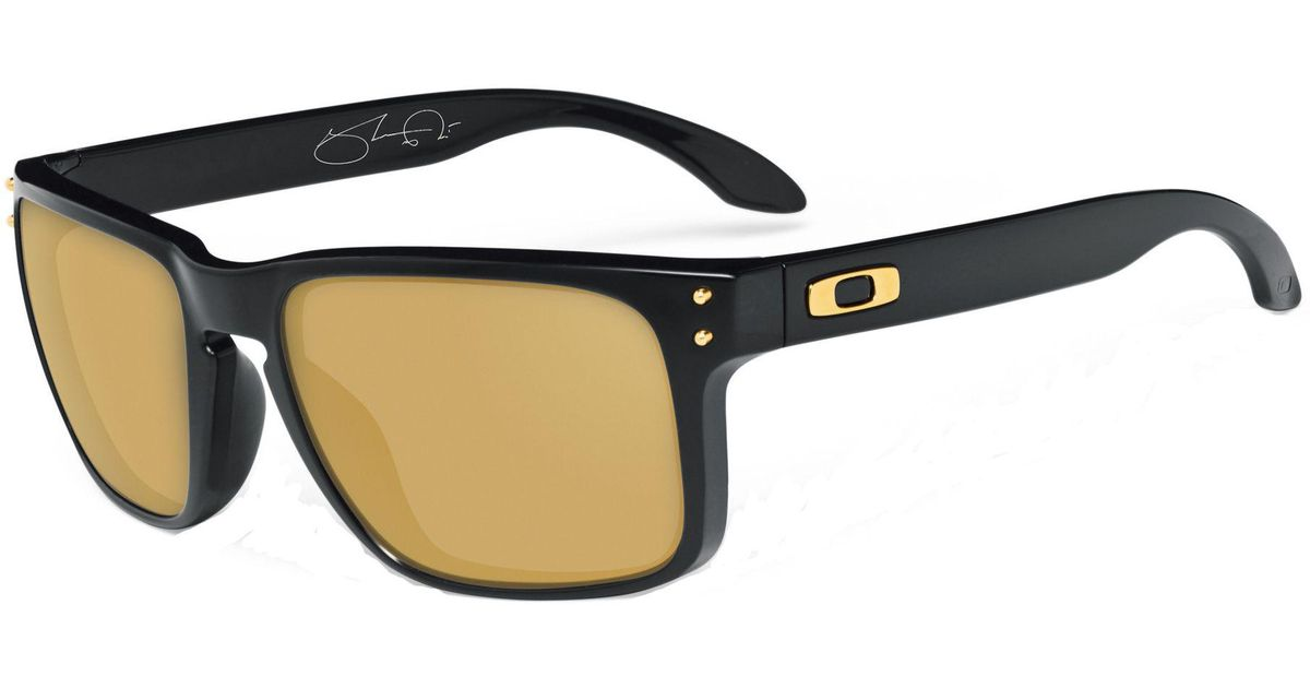 82858fe7ac1 Lyst - Oakley Holbrook Shaun White Signature Series Sunglasses in Black for  Men