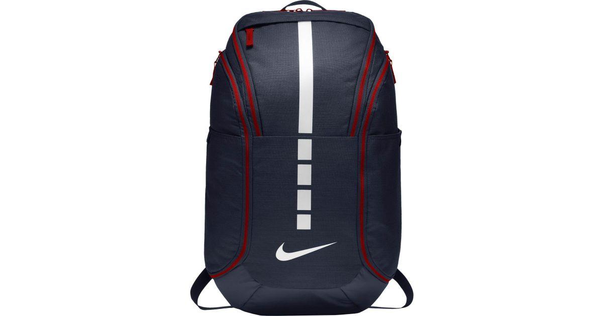 655a4d53fecbee Lyst - Nike Hoops Elite Pro Basketball Backpack in Blue for Men