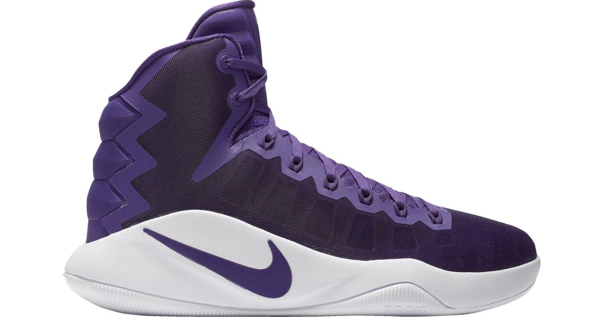 100% authentic 5fb46 98196 ... promo code for lyst nike hyperdunk 2016 basketball shoes in purple for  men 74d59 c3854