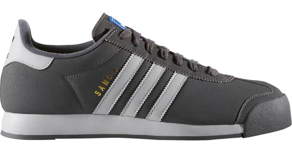 best service 3533e 809d9 Lyst - Adidas Originals Originals Samoa Casual Shoes in Gray for Men