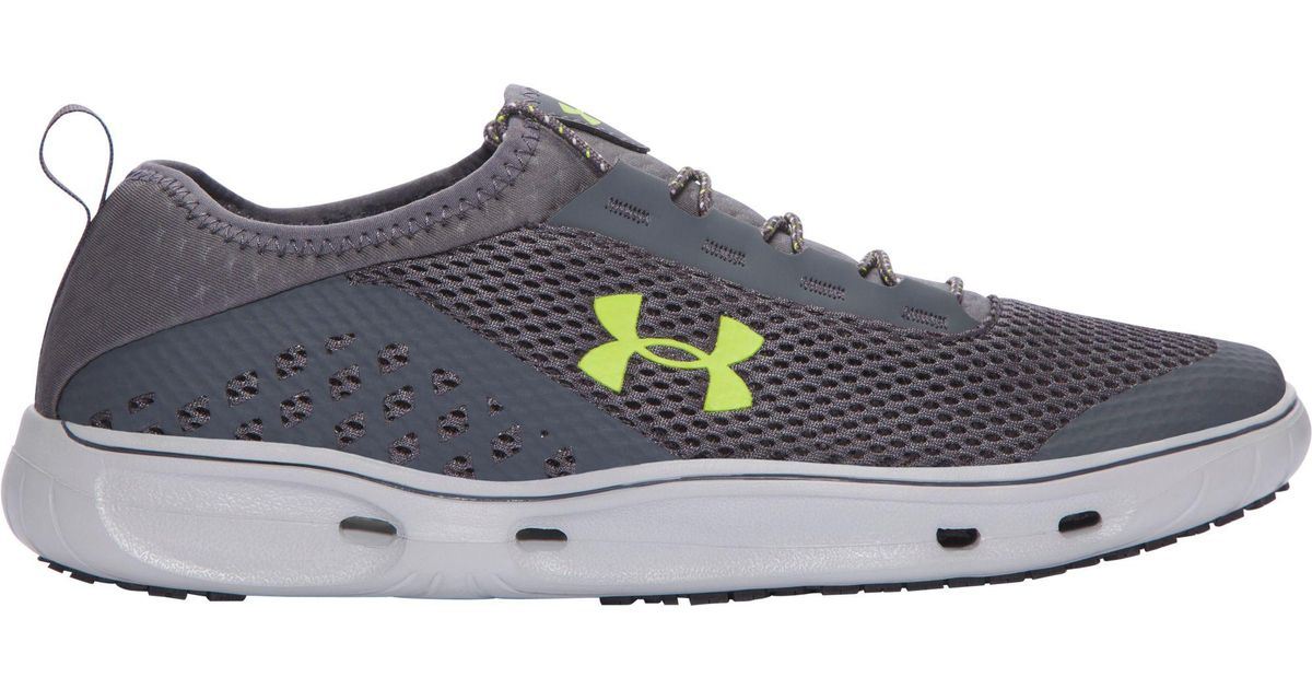 93f409f6439a Lyst - Under Armour Kilchis Water Shoes in Gray for Men
