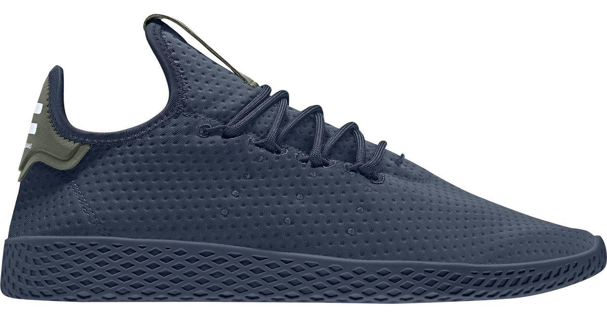 11fccefb647de Adidas Blue Originals Pharrell Williams Tennis Hu Shoes for men