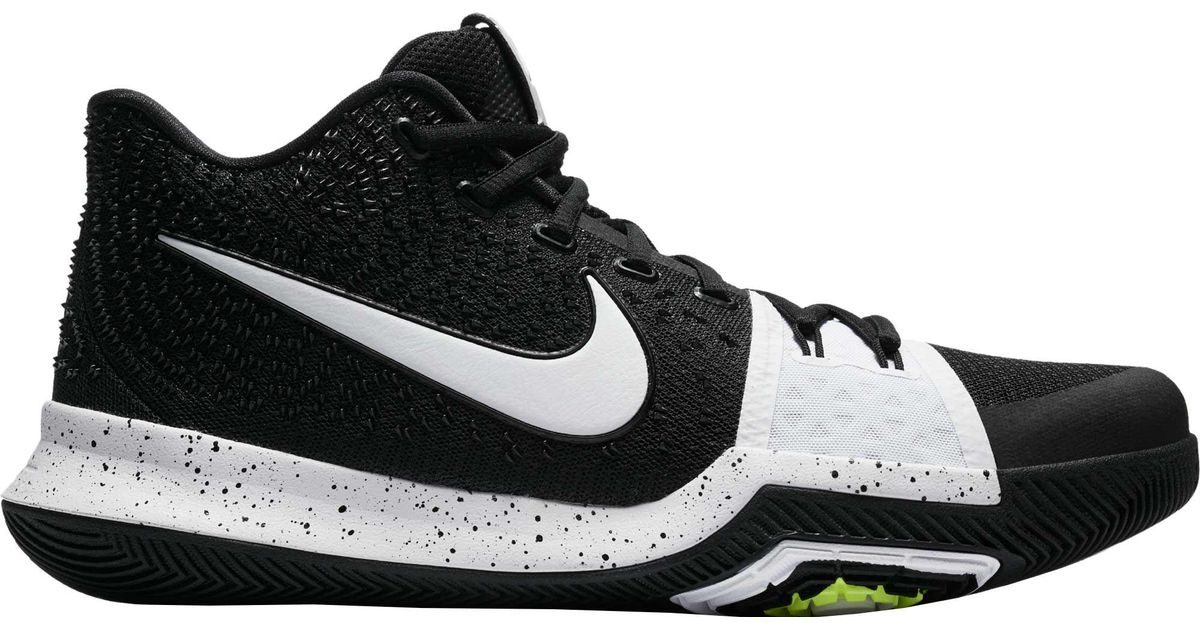 finest selection 33009 897b5 Nike Black Kyrie 3 Tb Basketball Shoes for men