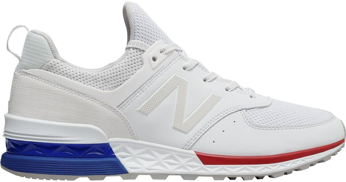 huge selection of 0674c 2ee78 New Balance White 574 Sport Shoes for men
