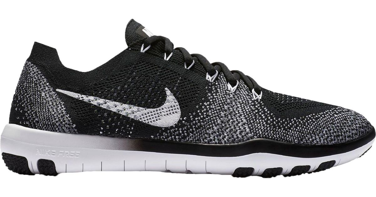 747adff7150a Lyst - Nike Free Focus Flyknit 2 Training Shoes in Black