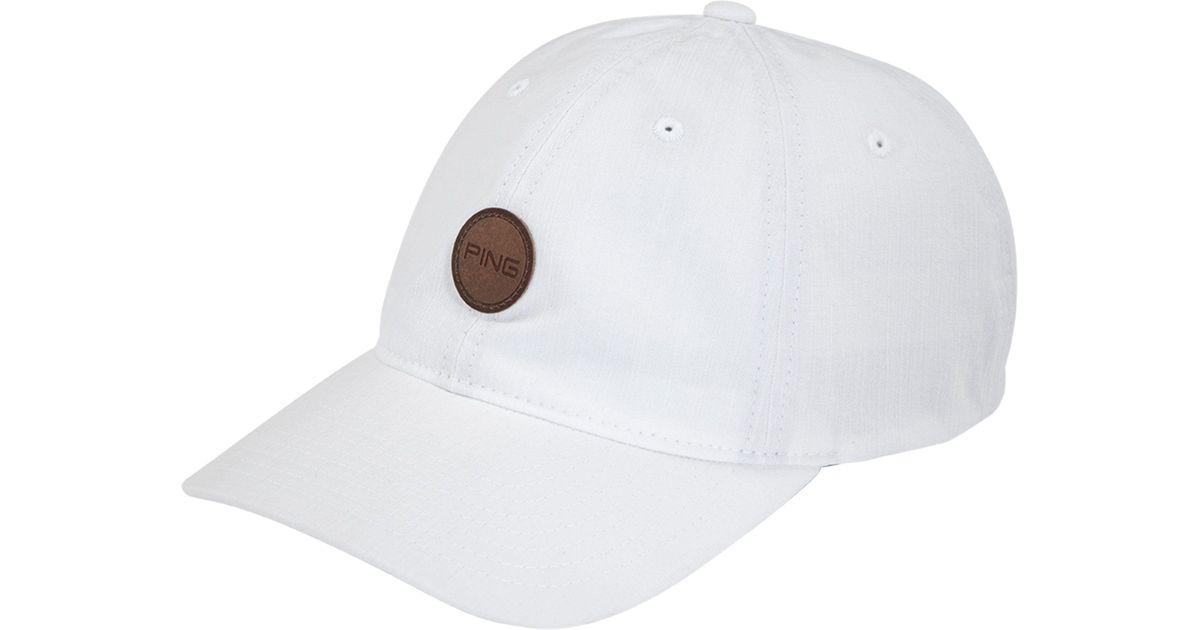 Lyst - Ping Fairway Golf Hat in White for Men 511e8c21efe