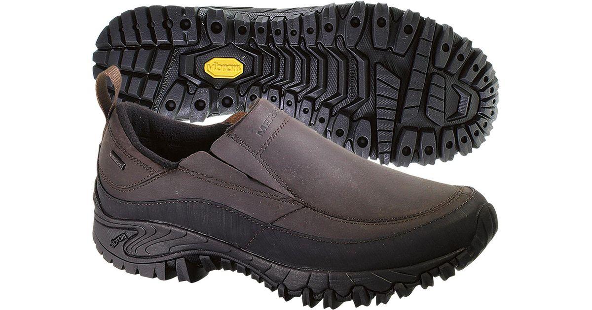 9d5d878cf7 Merrell Gray Shiver Moc 2 Waterproof Casual Shoes for men