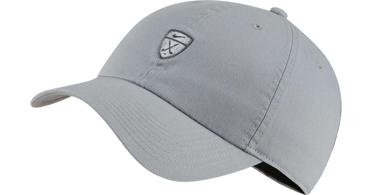 best service 8b7a1 359b5 Lyst - Nike Heritage86 Golf Hat in Gray for Men