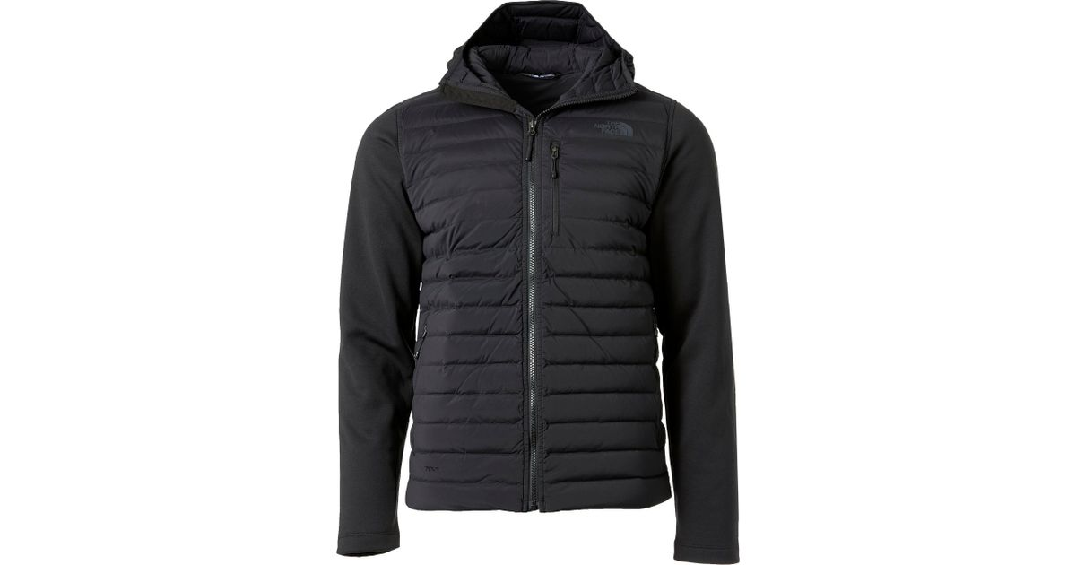 abafa8f689ff Lyst - The North Face Trevail Stretch Hybrid Down Jacket - Past Season in  Black for Men