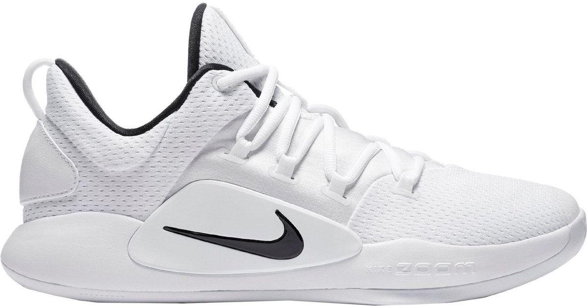 24daec768ba9 Lyst - Nike Hyperdunk X Low (team) Basketball Shoe in White for Men - Save  16%