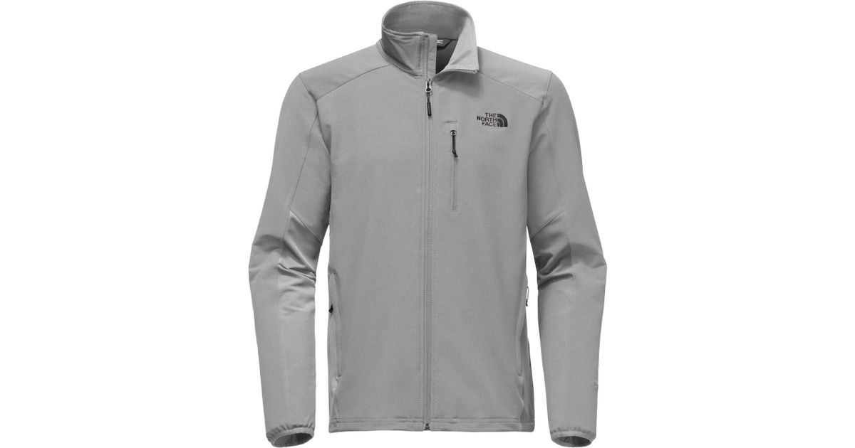 6597f7ae5 The North Face Gray Apex Pneumatic Soft Shell Jacket for men