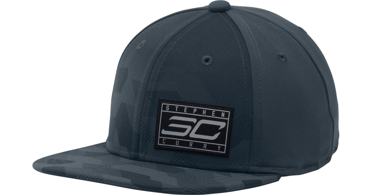 95742b84c6450 Lyst - Under Armour Oys  Sc30 Snapback Basketball Hat in Black for Men